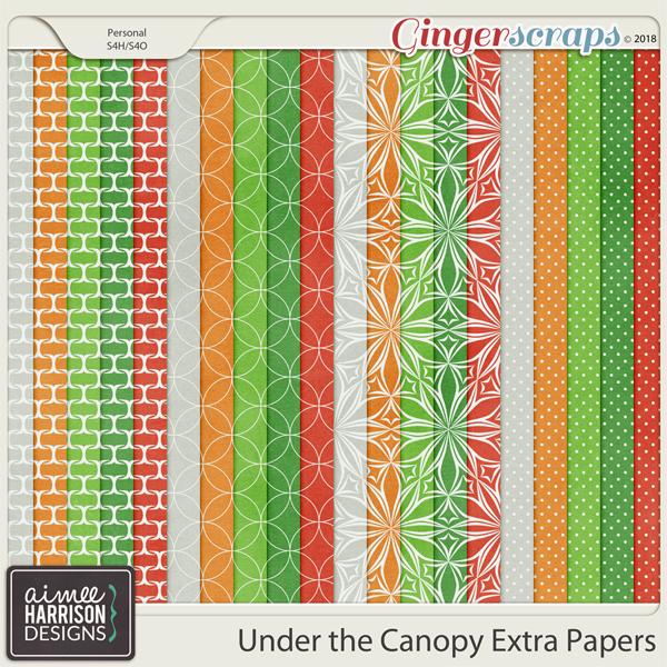 Under the Canopy Extra Papers by Aimee Harrison