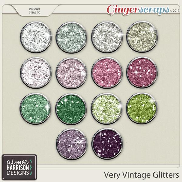 Very Vintage Glitters by Aimee Harrison