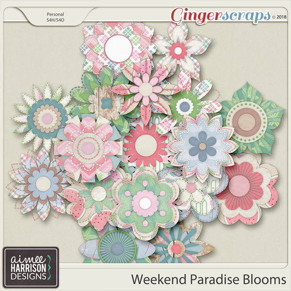 Weekend Paradise Blooms by Aimee Harrison