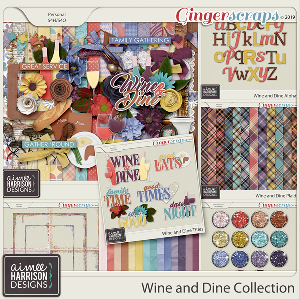 Wine and Dine Collection by Aimee Harrison