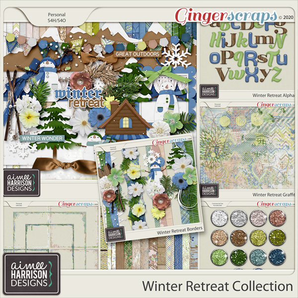 Winter Retreat Collection by Aimee Harrison