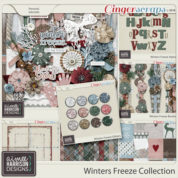 Winters Freeze Collection by Aimee Harrison