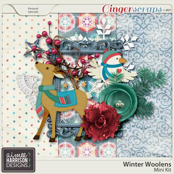 Winter Woolens Mini Kit by Aimee Harrison