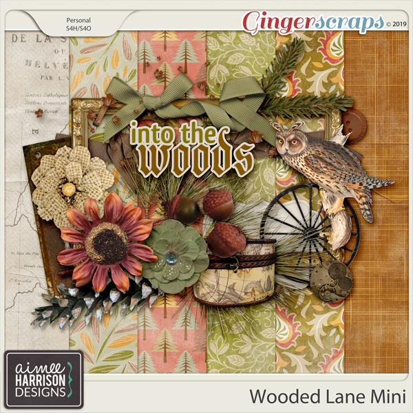 Wooded Lane Mini Kit by Aimee Harrison