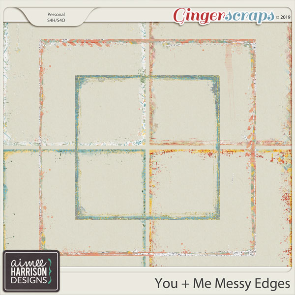 You and Me Messy Edges by Aimee Harrison