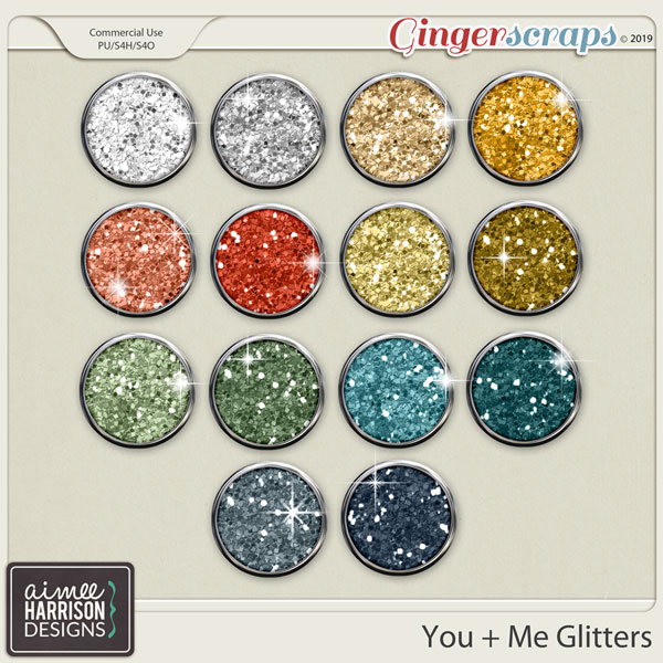 You and Me Glitters by Aimee Harrison