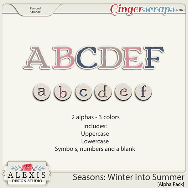Seasons: Winter into Spring - Alphas