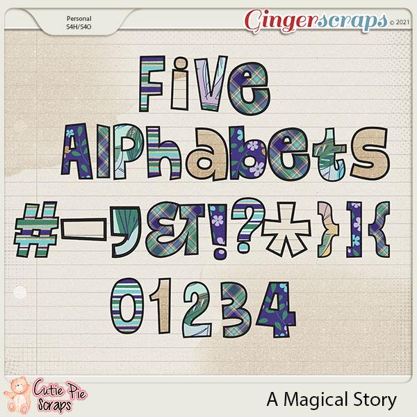 A Magical Story-Alpabets