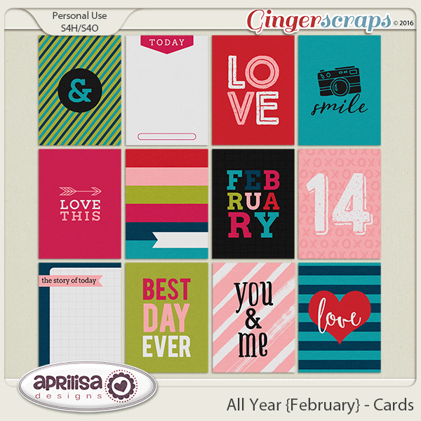 All Year {February} - Cards