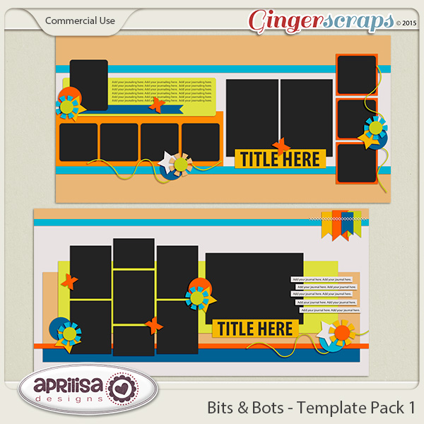 Bits And Bots - Template Pack 1