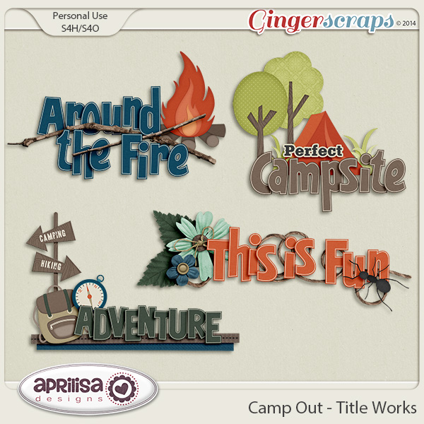 Camp Out - Title Works