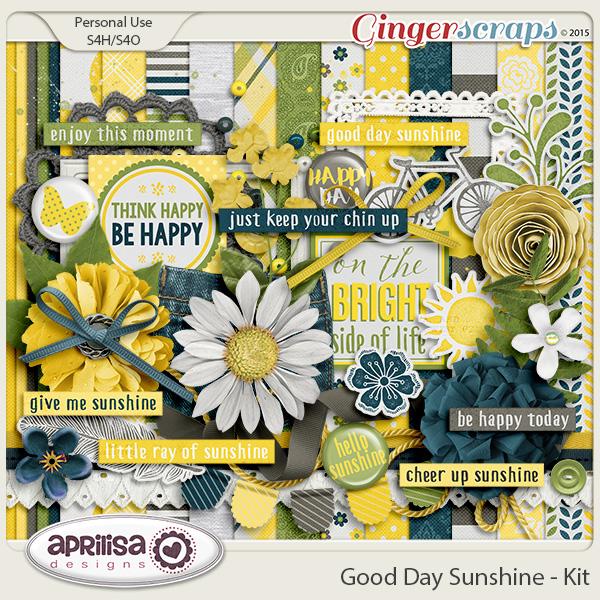 Good Day Sunshine - Kit by Aprilisa Designs