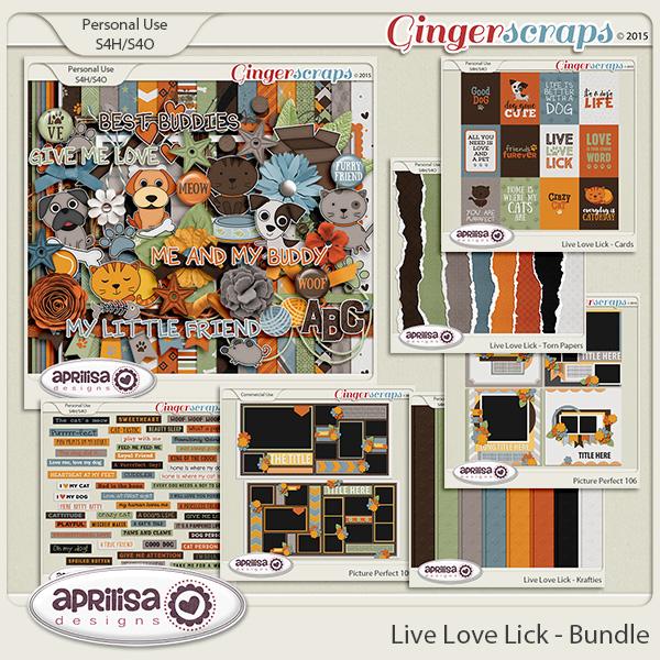 Live Love Lick - Bundle