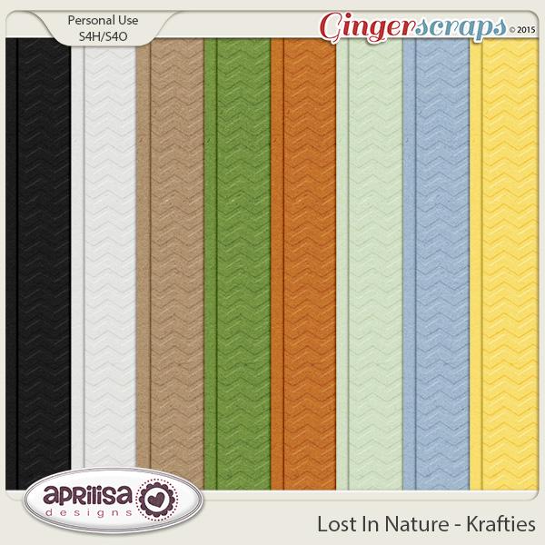 Lost In Nature - Krafties by Aprilisa Designs
