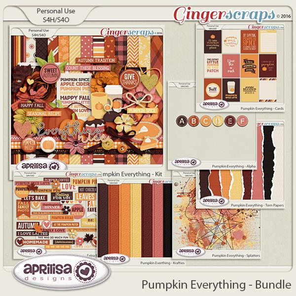 Pumpkin Everything - Bundle by Aprilisa Designs