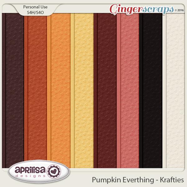Pumpkin Everything - Krafties by Aprilisa Designs