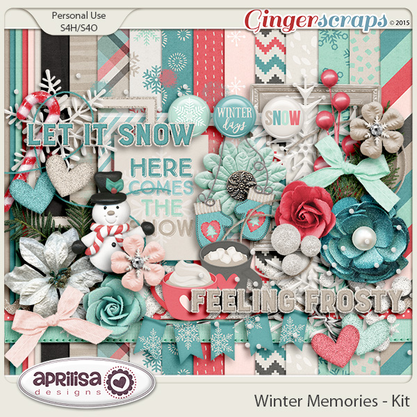 Winter Memories - Kit by Aprilisa Designs