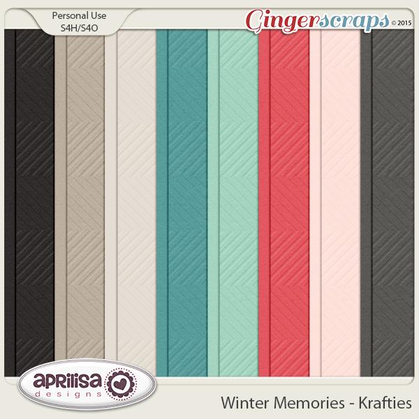 Winter Memories - Krafties by Aprilisa Designs