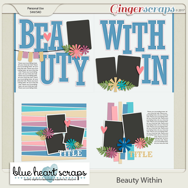 Beauty Within Template Pack