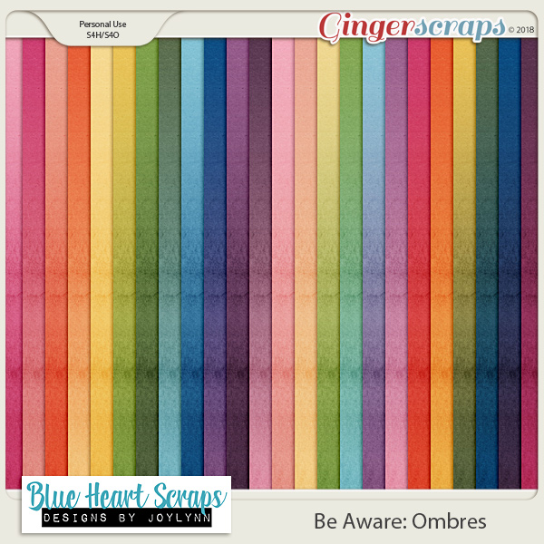 Be Aware: Ombre Papers