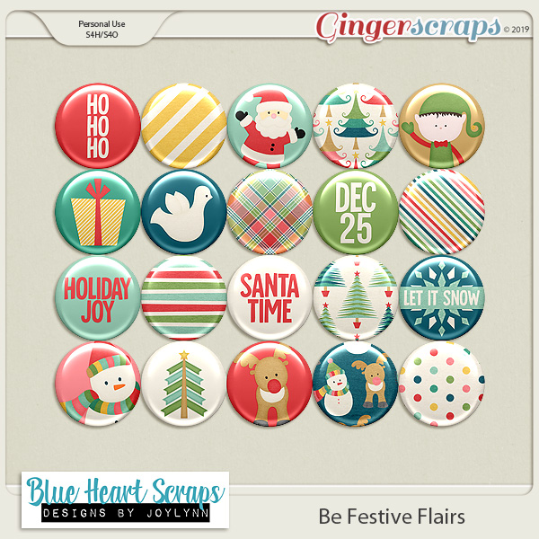 Be Festive Flair Pack