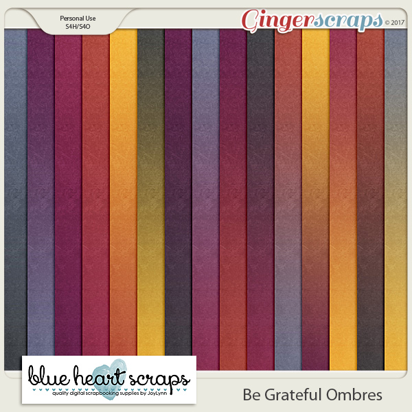 Be Grateful Ombre Paper Pack