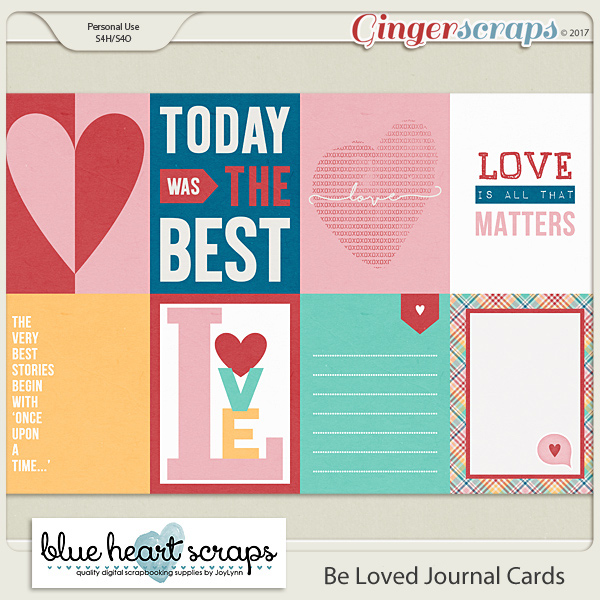 Be Loved Journal Cards