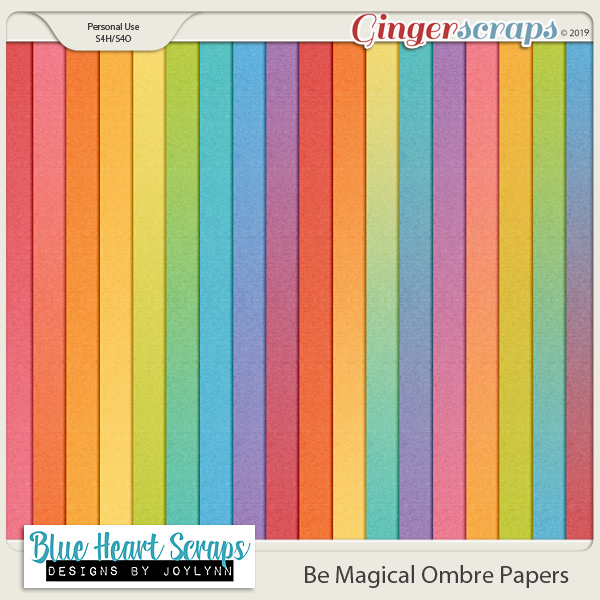 Be Magical Ombre Paper Pack