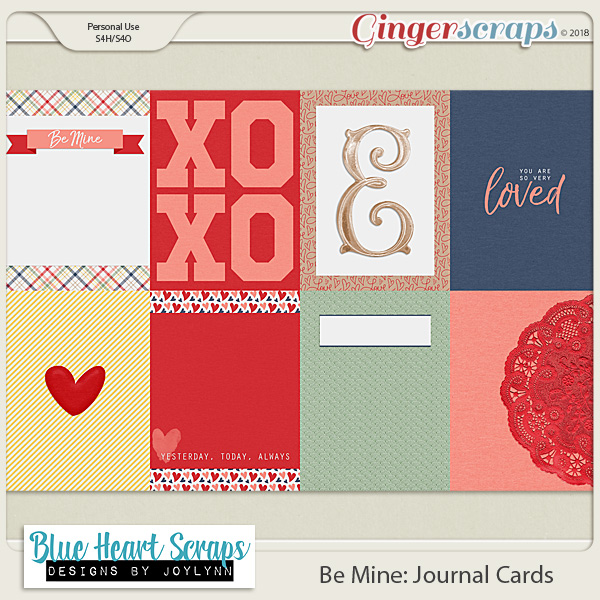 Be Mine Journal Card Pack