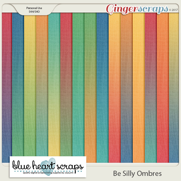 Be Silly Ombre Papers