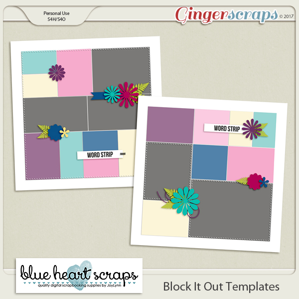 Block It Out Templates