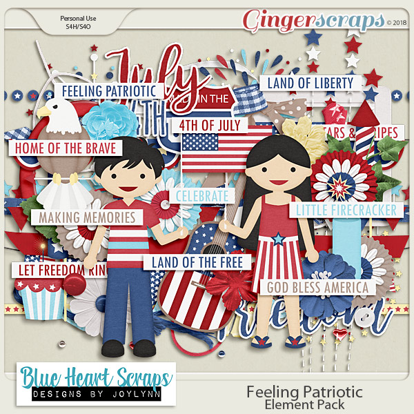 Feeling Patriotic: Element Pack
