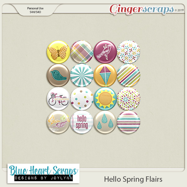 Hello Spring Flair Pack