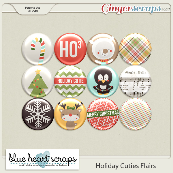 Holiday Cuties Flair Pack