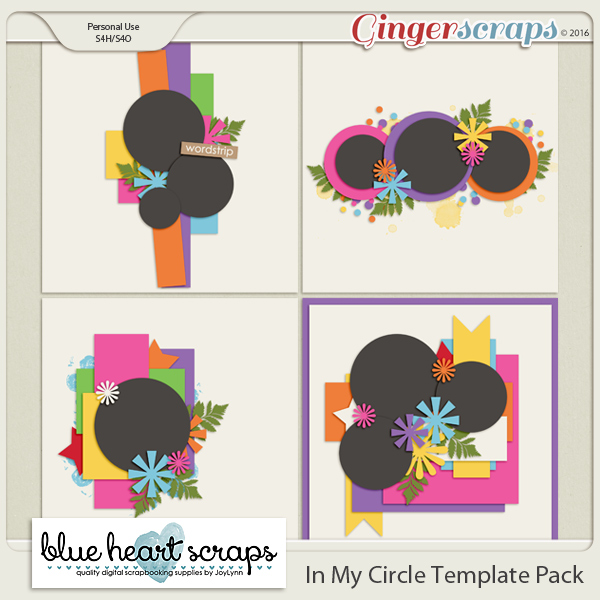 In My Circle Template Pack