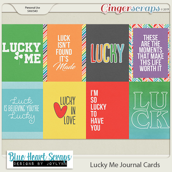 Lucky Me Journal Cards