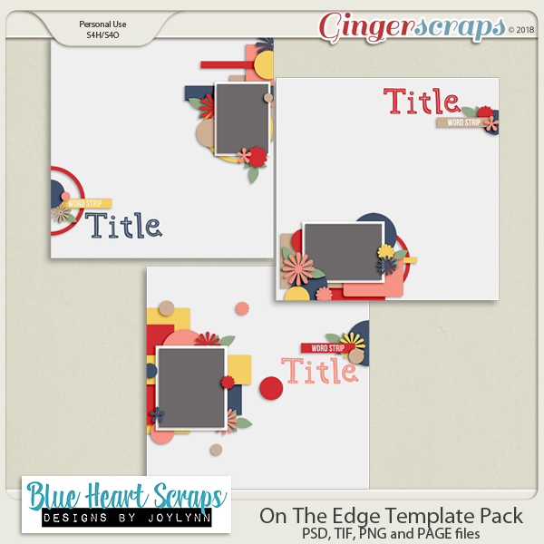 On The Edge Template Pack