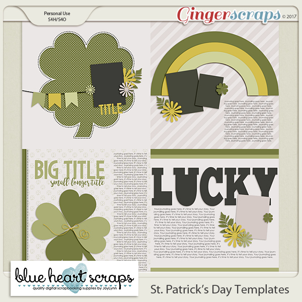 St Patrick's Day Templates