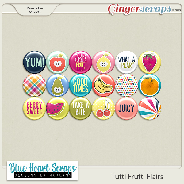 Tutti Frutti Flair Pack