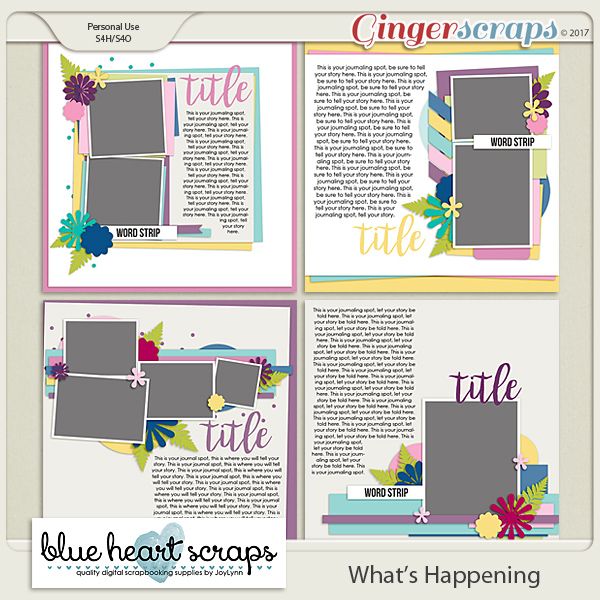 What's Happening Template Pack