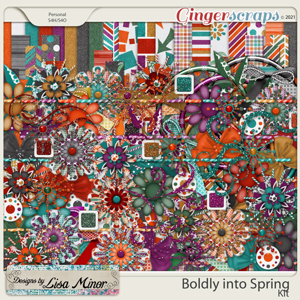 Boldly into Spring from Designs by Lisa Minor