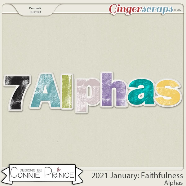 2021 January: Faithfulness Bonus Alphas by North Meets South Studios