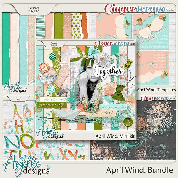 April Wind. Bundle by Angelle Designs