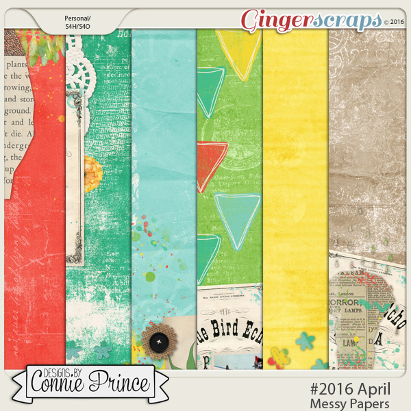 #2016 April - Messy Papers