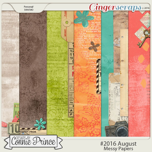 #2016 August - Messy Papers