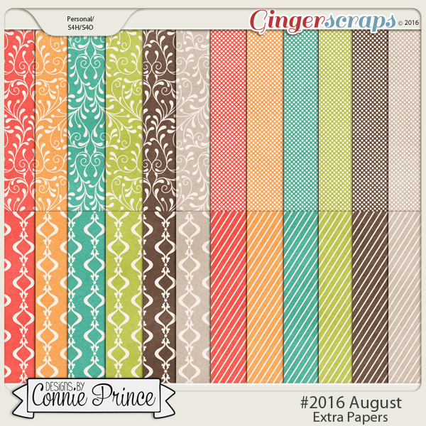 #2016 August - Extra Papers