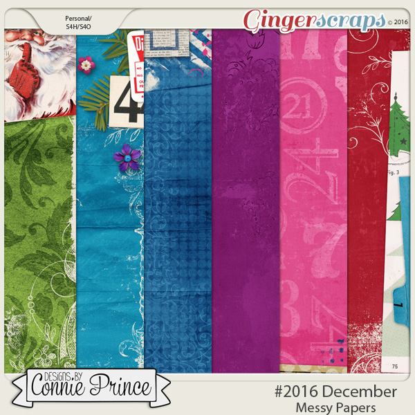 #2016 December - Messy Papers