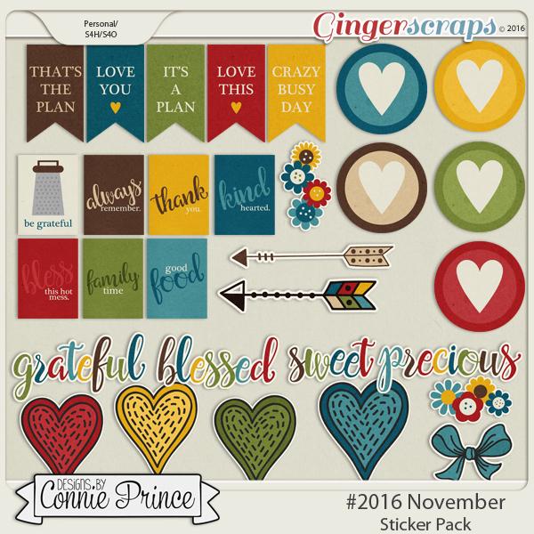#2016 November - Sticker Pack