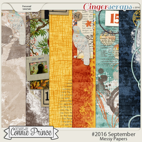 #2016 September - Messy Papers