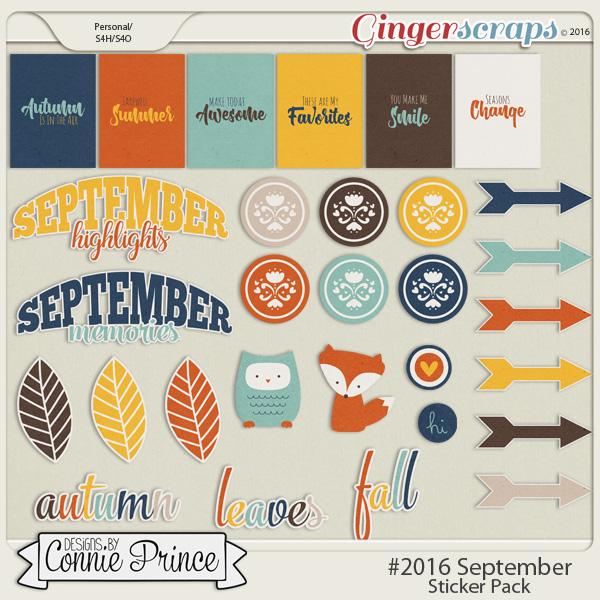 #2016 September - Sticker Pack